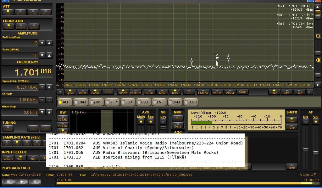 1701 kHz DU HETS 02SE15